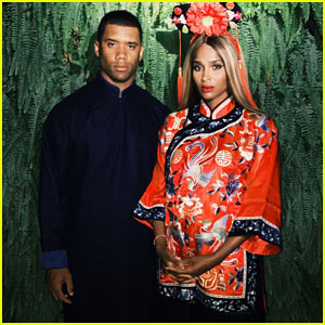 Ciara & Russell Wilson Take Newborn Daughter Sienna Down Water Slide at Great Wall Of China!