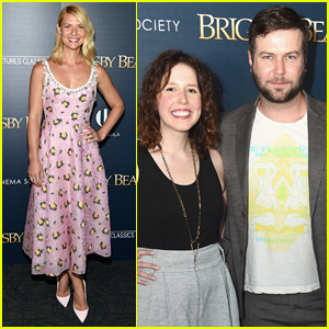 Claire Danes Joins 'SNL' Alums Taran Killam & Vanessa Bayer at 'Brigsby Bear' Premiere