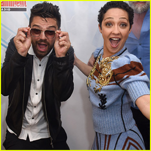 Dominic Cooper & Ruth Negga Get Playful at Comic-Con!
