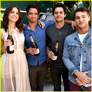 Dylan O'Brien Reunites With 'Teen Wolf' Cast at Comic-Con!