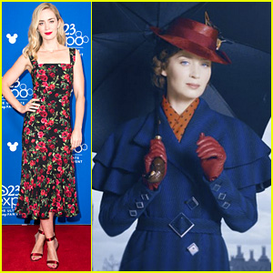 Emily Blunt Debuts New 'Mary Poppins Returns' Content at D23!