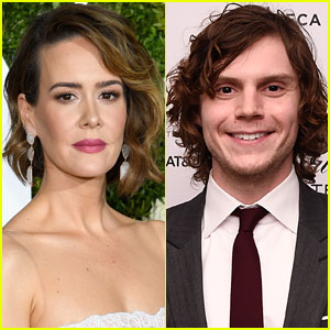 Sarah Paulson & Evan Peters in 'American Horror Story: Cult' - First Look!