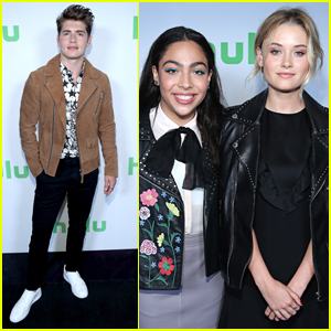Gregg Sulkin & His 'Runaways' Co-Stars Promote Their Show at TCA Summer Press Tour