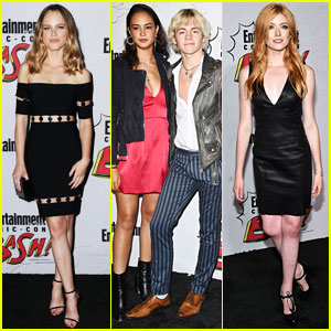 Halston Sage, Courtney Eaton, & Katherine McNamara Hit Up EW's Comic-Con 2017 Party!
