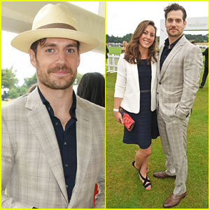 Henry Cavill & Girlfriend Lucy Cork Couple Up at Jaeger-LeCoultre Polo Final!