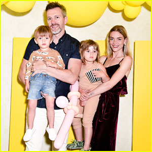 Jaime King Makes AKID Brand's 'Despicable Me 3' Collection Launch A Family Affair!