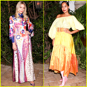 Jaime King & Tracee Ellis Ross Wear Vintage Finds to Dinner