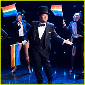 James Corden Performs Musical Number in Response to Donald Trump's Ban of Transgender Troops - Watch Now
