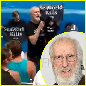 James Cromwell Arrested at SeaWorld Protest, Video Released