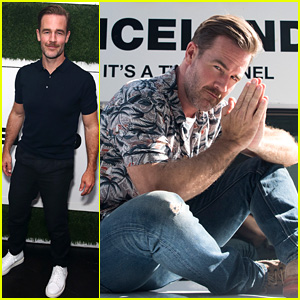 James Van Der Beek Lets Loose at Comic-Con for 'What Would Diplo Do?'