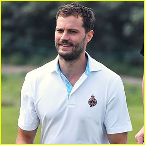 Jamie Dornan Takes Selfies with So Many Fans at Irish Open