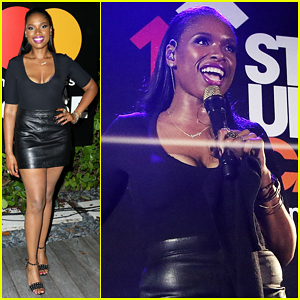 Jennifer Hudson Hits The Stage for Stand Up To Cancer Concert!