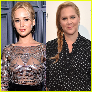 Jennifer Lawrence Joins Amy Schumer at Comedy Event in NYC!