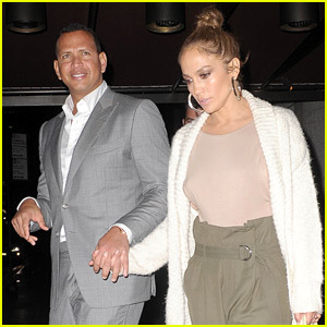 Jennifer Lopez Helps Alex Rodriguez Celebrate His Birthday!
