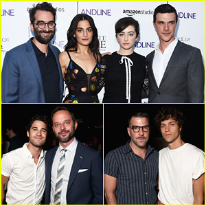 Jenny Slate Gets Support From Zachary Quinto & Darren Criss at 'Landline' Premiere - Watch Trailer!