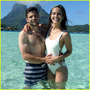 Jerry Ferrara & Wife Breanne Racano Share Honemoon Photos!