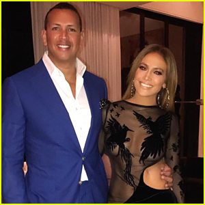 Jennifer Lopez Celebrates Her Birthday in a Sheer Dress with Alex Rodriguez!