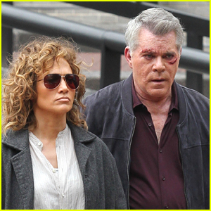 Jennifer Lopez & Ray Liotta Get Serious Filming 'Shades of Blue'