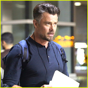 Josh Duhamel Prepares for 'Buddy Games' Filming in Vancouver