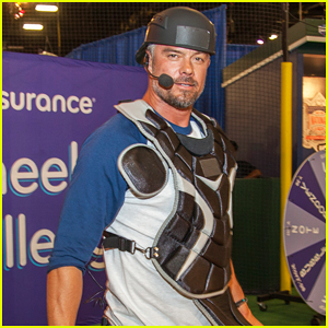 Josh Duhamel Teams Up with Pudge Rodriguez for MLB All-Star Weekend!
