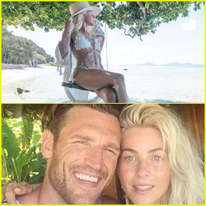 Julianne Hough & Brooks Laich Share Honeymoon Photos!