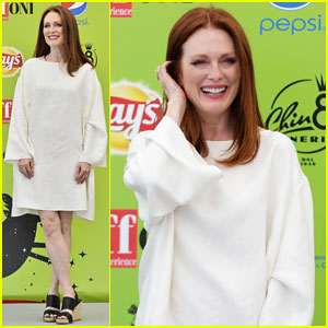 Julianne Moore Brings Inspiring Message To Giffoni Film Fest: 'Don't Ever Let Anybody Say That You Can't Do Something'