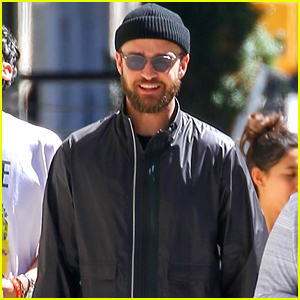 Justin Timberlake Keeps a Low Profile While Out with Friends