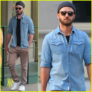 Justin Timberlake Goes Incognito For Lunch in NYC!
