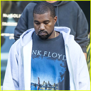 Kanye West Heads Home After a Long Day at the Office