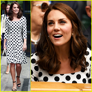 Kate Middleton Debuts Short Haircut At First Day of Wimbledon Championships!