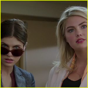 Kate Upton & Alexandra Daddario Face Off in 'Layover' Trailer (Video)