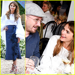 Keri Russell Dines with Darren Aronofsky in the Hamptons