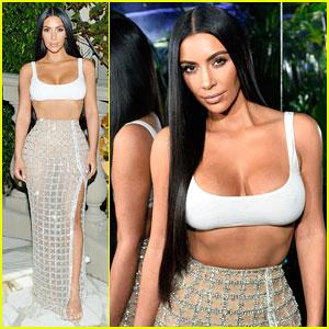 Kim Kardashian Steps Out In Style to Celebrate Balmain L.A Boutique Opening!