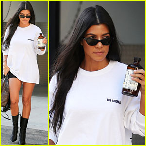 Kourtney Kardashian Emerges Amid Rumors of 'Fractured' Relationship with Scott Disick