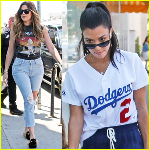 Kourtney & Khloe Kardashian Great Creative With Cupcakes at Duff's Cakemix