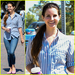 Lana Del Rey Reps Her July 4th Style While Grabbing Coffee