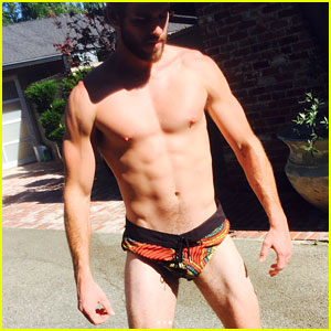 Liam Hemsworth Puts Everything on Display in These Very Tiny Shorts!