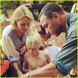 Liev Schreiber & Naomi Watts Reunite for Son's 10th Birthday