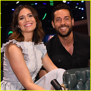 Mandy Moore & Zachary Levi Get Their Own Parade at D23 Expo!