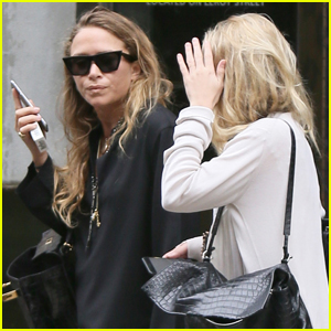 Mary-Kate & Ashley Olsen Show Their Style While Out in NYC