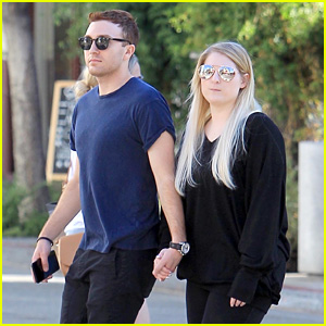 Meghan Trainor & Daryl Sabara Step Out After Celebrating One-Year Anniversary