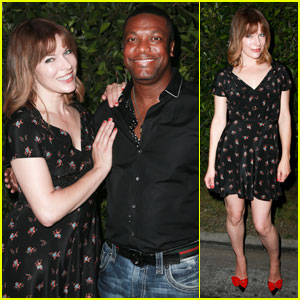 Milla Jovovich & Chris Tucker Reunite at 'The Fifth Element' Cinespia Screening