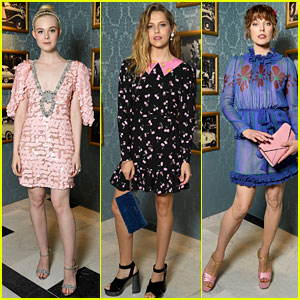So Many Celebs Stepped Out for Miu Miu's Paris Show!