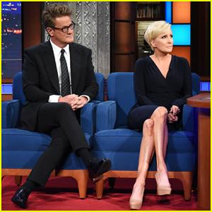 'Morning Joe' Co-Host Joe Scarborough Tells Stephen Colbert He's Leaving the Republican Party!