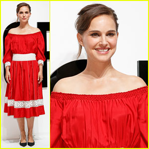 Natalie Portman Hits Tokyo for Dior For Love Photo Call!