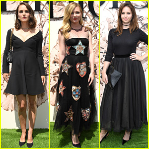 Natalie Portman, Kirsten Dunst, & Felicity Jones Doll Up for Dior!