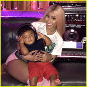 Nicki Minaj Enjoys 'Aunty' Time with DJ Khaled's Son Asahd
