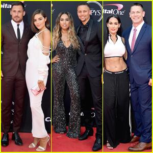 Olivia Culpo & Boyfriend Danny Amendola Join Stephen Curry & Wife Ayesha at ESPY Awards 2017