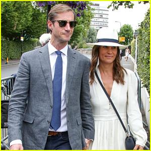 Newlyweds Pippa Middleton & James Matthews Attend a Wimbledon Match!