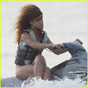 Rihanna Riding Jet Ski With Crossed Legs Is Going Viral